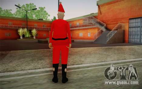 Santa Claus for GTA San Andreas second screenshot