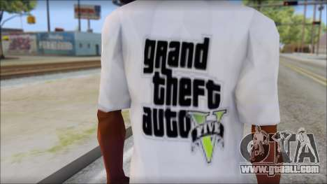 GTA 5 Fan T-Shirt for GTA San Andreas third screenshot