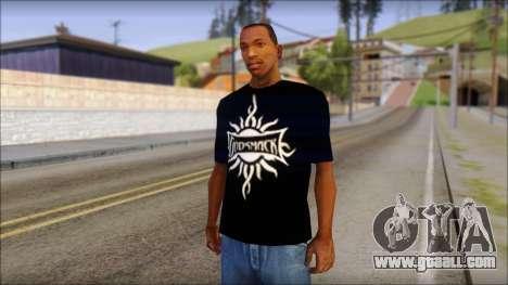 Godsmack T-Shirt for GTA San Andreas