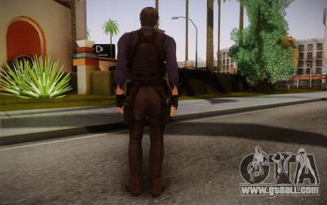 Leon Kennedy from Resident Evil 6 for GTA San Andreas second screenshot