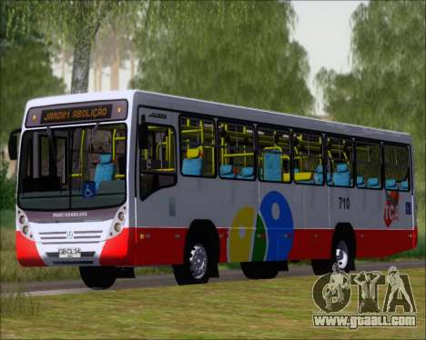 Neobus Mega IV - TCA (Araras) for GTA San Andreas left view