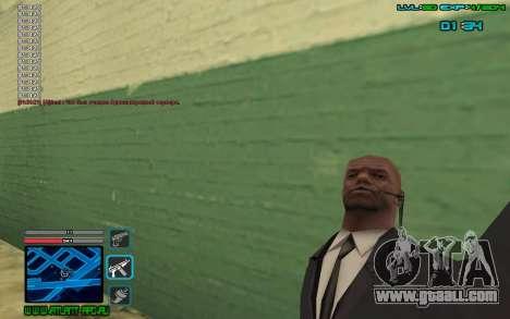 C-HUD by SampHack v.4 for GTA San Andreas