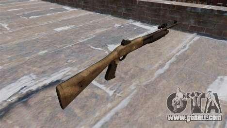 Ружьё Benelli M3 Super 90 a tac au for GTA 4 second screenshot
