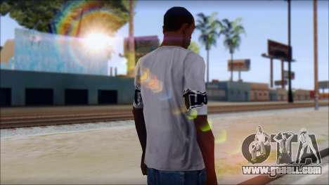 Tapout T-Shirt for GTA San Andreas second screenshot