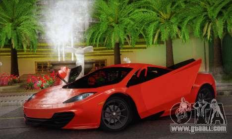 McLaren MP4-12C GAWAI v1.3 for GTA San Andreas