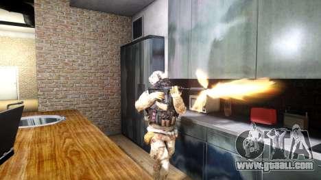 M4A1 V1.1 for GTA 4 third screenshot