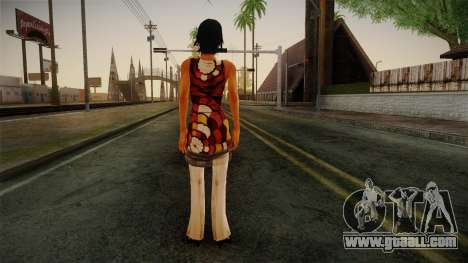Billie from Stranglehold for GTA San Andreas second screenshot