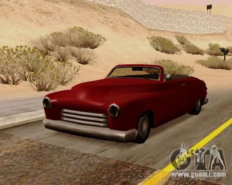 Hermes Convertible for GTA San Andreas
