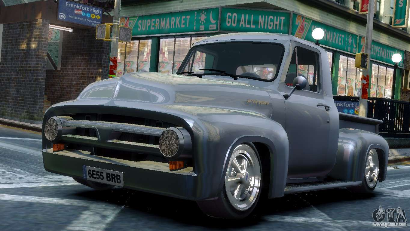 ford fr100 stance for gta 4. Black Bedroom Furniture Sets. Home Design Ideas