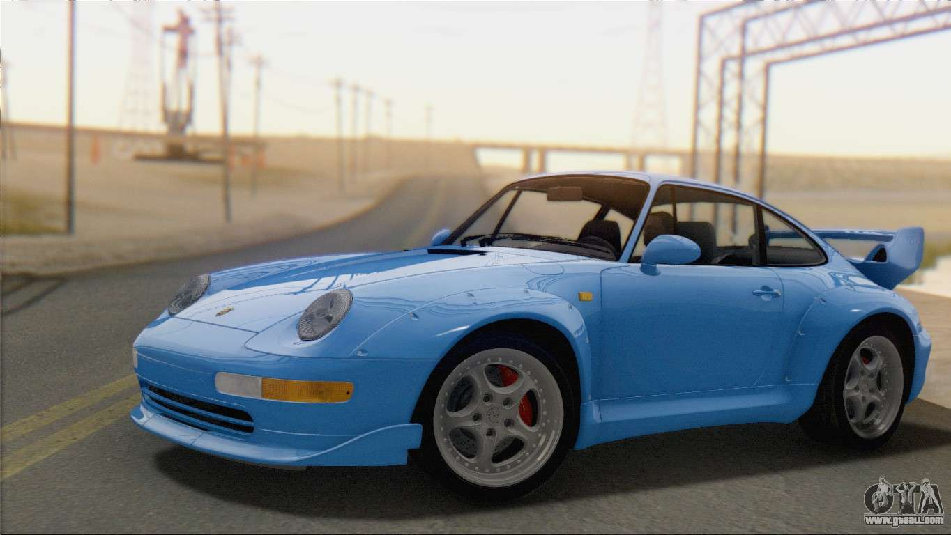 porsche 911 gt2 993 1995 v1 0 sa plate for gta san andreas. Black Bedroom Furniture Sets. Home Design Ideas