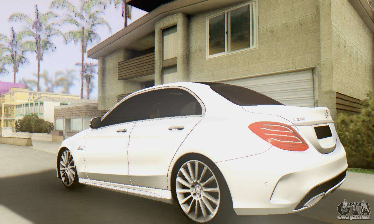 Mercedes benz c250 amg for gta san andreas for Mercedes benz c250
