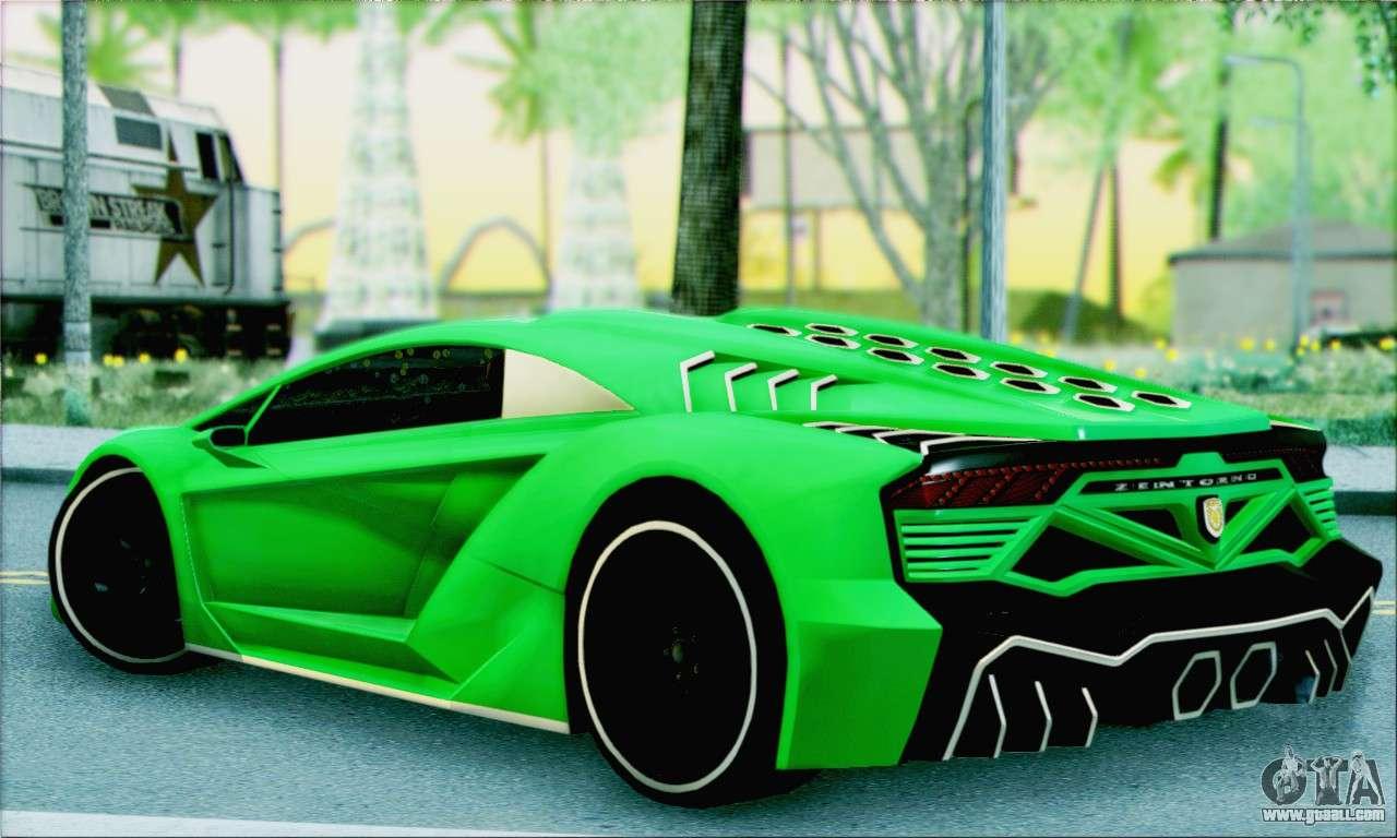 Car Interior Parts >> Pegassi Zentorno for GTA San Andreas