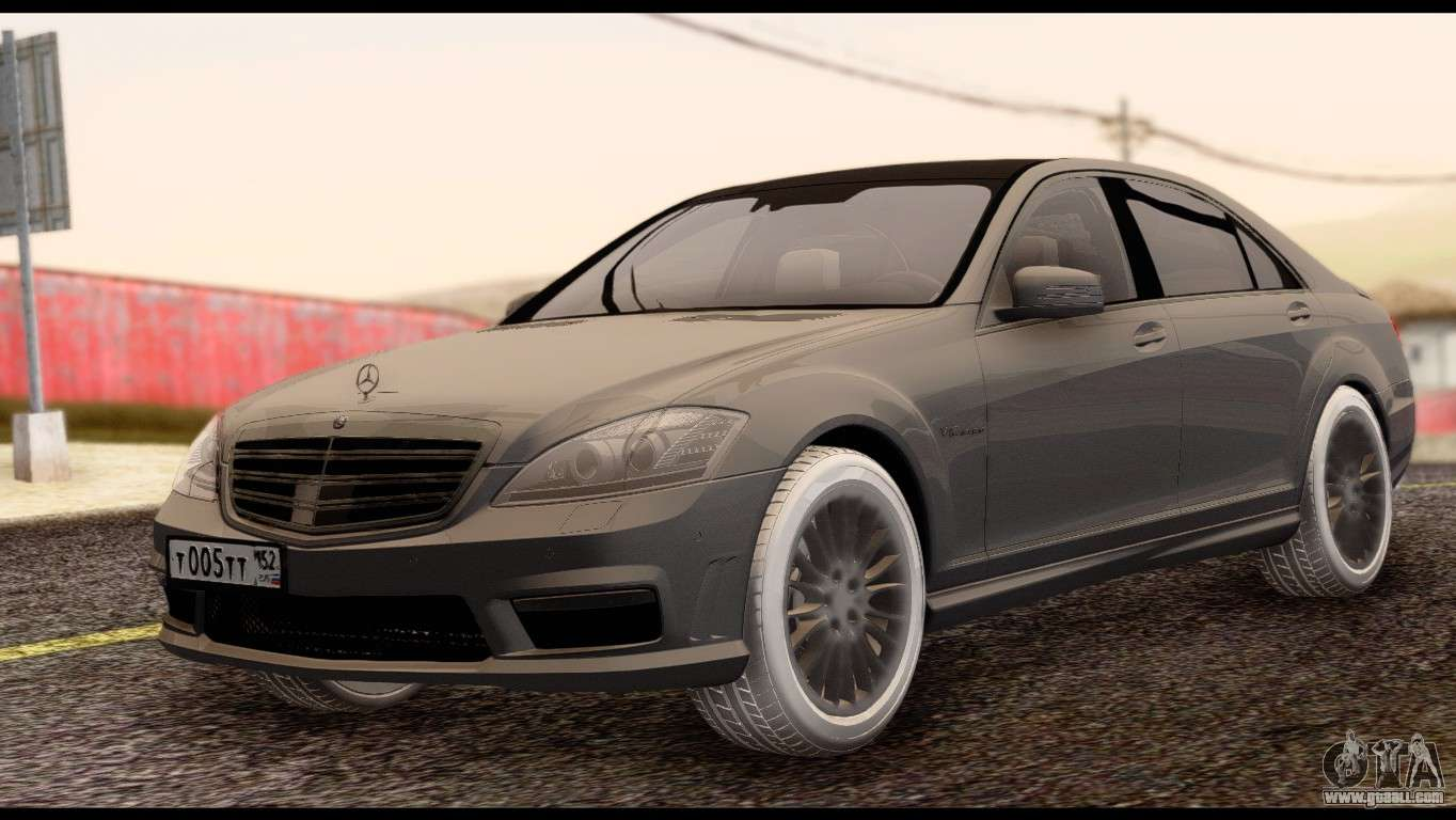 Mercedes benz s65 amg for gta san andreas for Mercedes benz s65