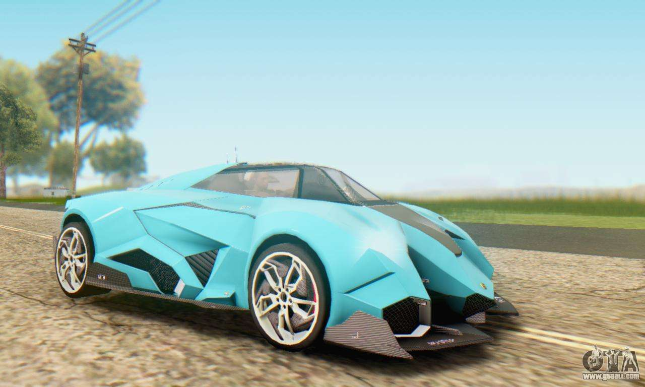 Lamborghini Egoista Concept 2013 For Gta San Andreas