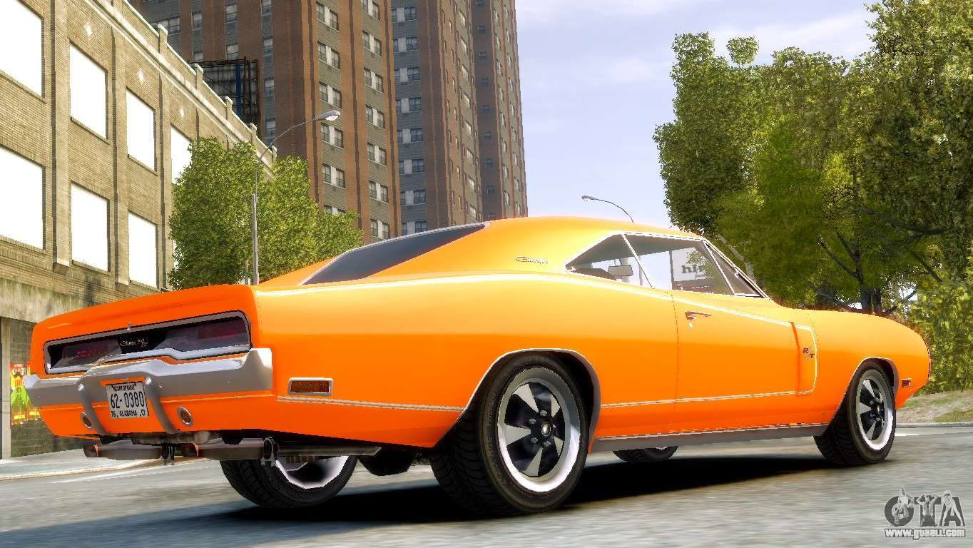 Dodge Charger Rt 1970 For Gta 4