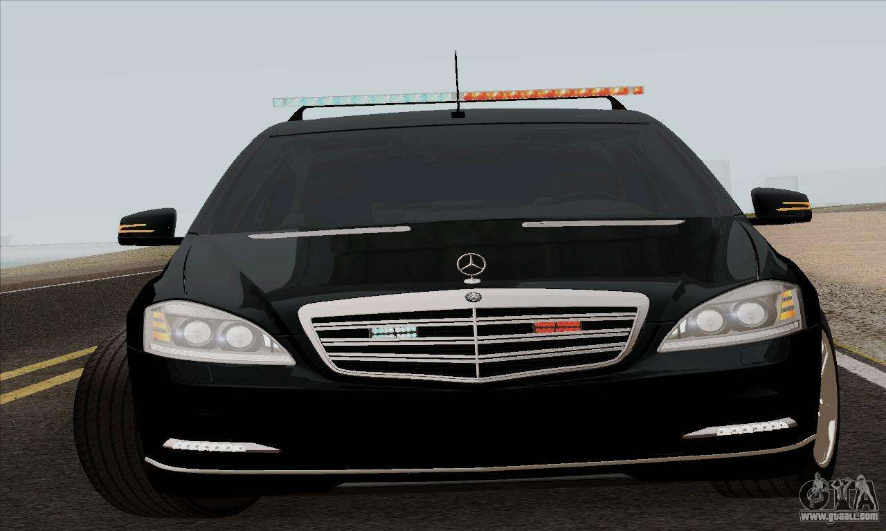 Mercedes benz s600 w221 2012 for gta san andreas for Mercedes benz s600 2014