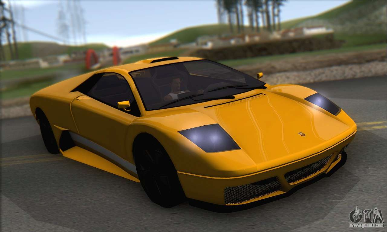 Pegassi Infernus For Gta San Andreas