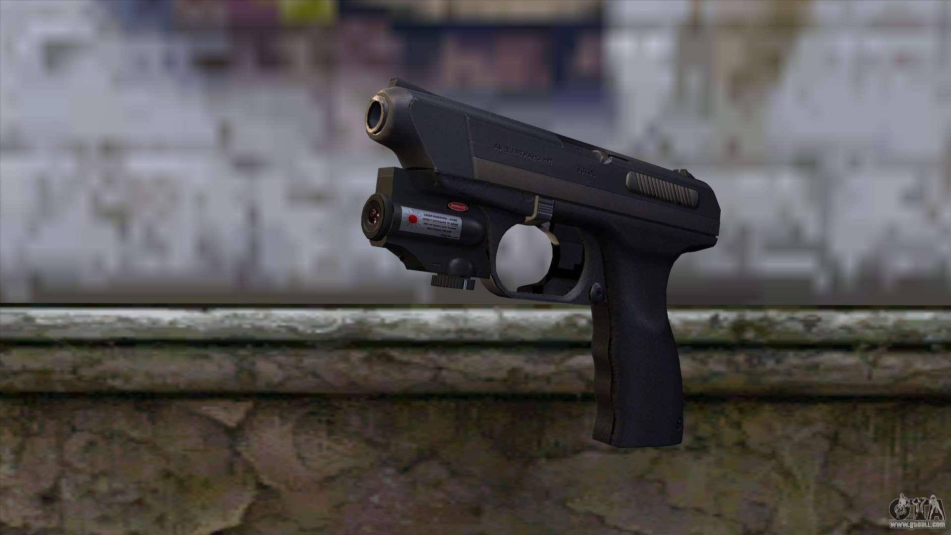 Vp 70 Pistol From Resident Evil 6 V2 For Gta San Andreas