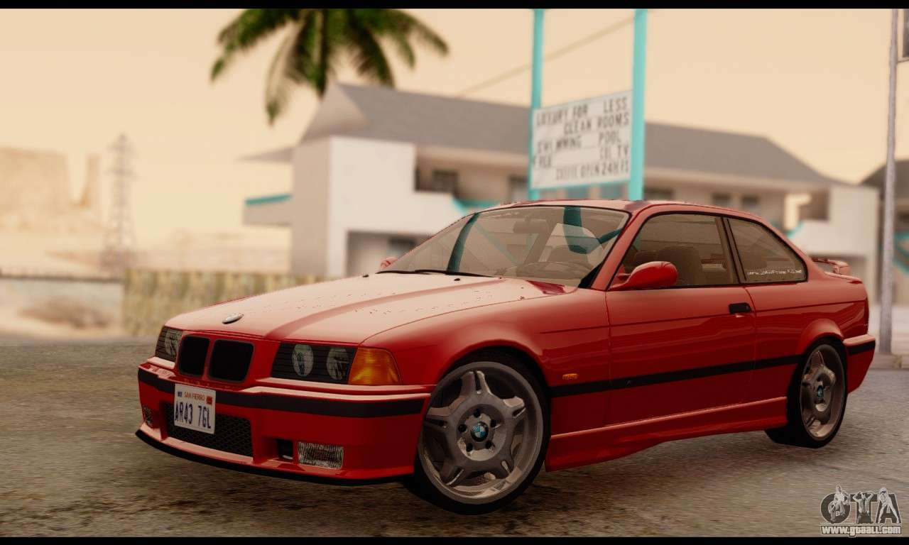 bmw m3 e36 1994 for gta san andreas. Black Bedroom Furniture Sets. Home Design Ideas