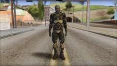 NanoSuit Skin for GTA San Andreas