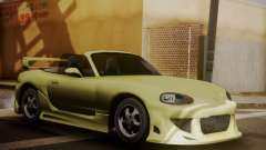 Mazda MX5 DUB for GTA San Andreas