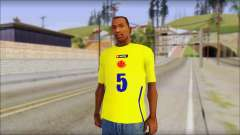 T-Shirt Colombia for GTA San Andreas