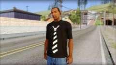SkullTie T-Shirt for GTA San Andreas