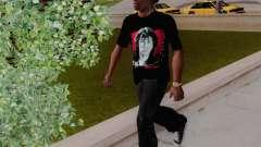 T-shirt c Viktor Tsoi for GTA San Andreas