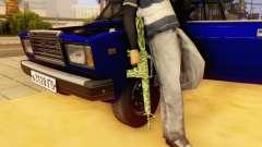Camo M16 for GTA San Andreas
