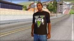 GTA 5 T-Shirt for GTA San Andreas