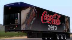 Trailer Chereau Coca-Cola Zero Truck