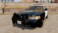Ford Crown Victoria Sheriff [ELS] Marked for GTA 4