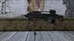 XM8 LMG Black for GTA San Andreas