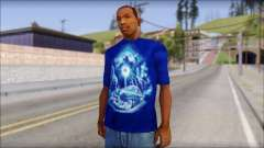 Lowrider Blue T-Shirt for GTA San Andreas