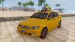 Chevrolet Lacetti Taxi for GTA San Andreas