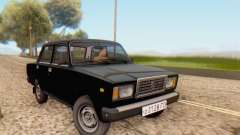 VAZ 2107 Stock for GTA San Andreas