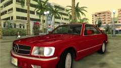 Mercedes-Benz 560SEC (W126) 1987 for GTA Vice City