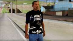A7X Deathbats Fan T-Shirt Black for GTA San Andreas