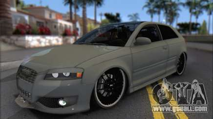 Audi S3 2006 Custom for GTA San Andreas