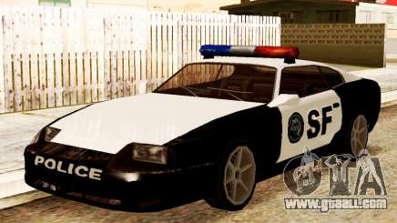 Jester Police SF for GTA San Andreas