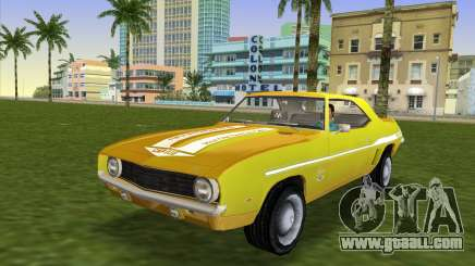 Chevrolet Camaro Cab 1969 for GTA Vice City