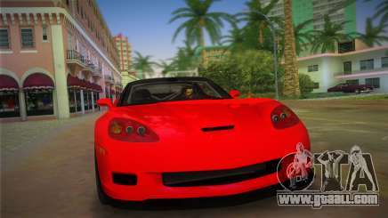 Chevrolet Corvette 2010 for GTA Vice City
