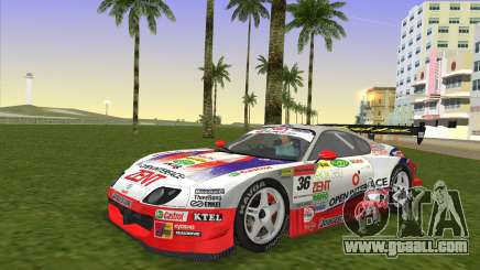Toyota Supra RZ JZA80 Super GT Type 6 for GTA Vice City
