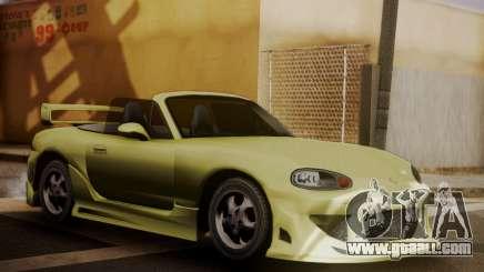 Mazda MX5 DUB for GTA San Andreas