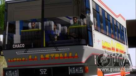San Antonio Augusto - Empresa La Estrella for GTA San Andreas