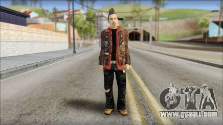 Biker from Avenged Sevenfold 3 for GTA San Andreas