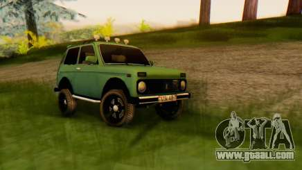 VAZ 21213 for GTA San Andreas