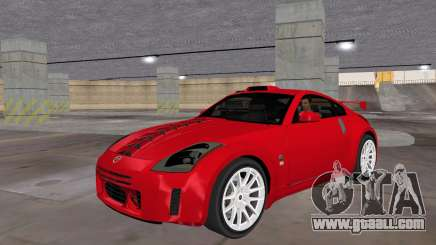 Nissan 350z Tuned for GTA Vice City