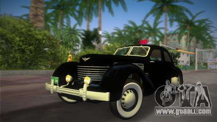Cord 812 Charged Beverly Sedan 1937 for GTA Vice City