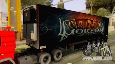 Trailer Chereau Morton Band 2014 for GTA San Andreas